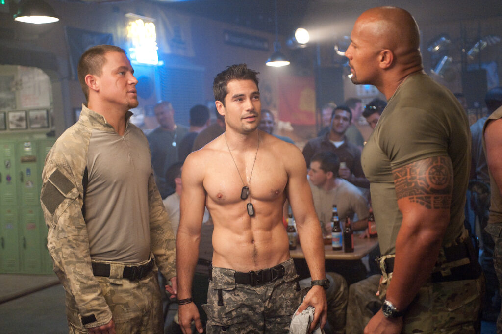 DJ Cotrona Dwayne Johnson Channing Tatum Ray Park GI Joe Retaliation