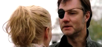 Laurie Holden David Morrissey The Walking Dead Prey