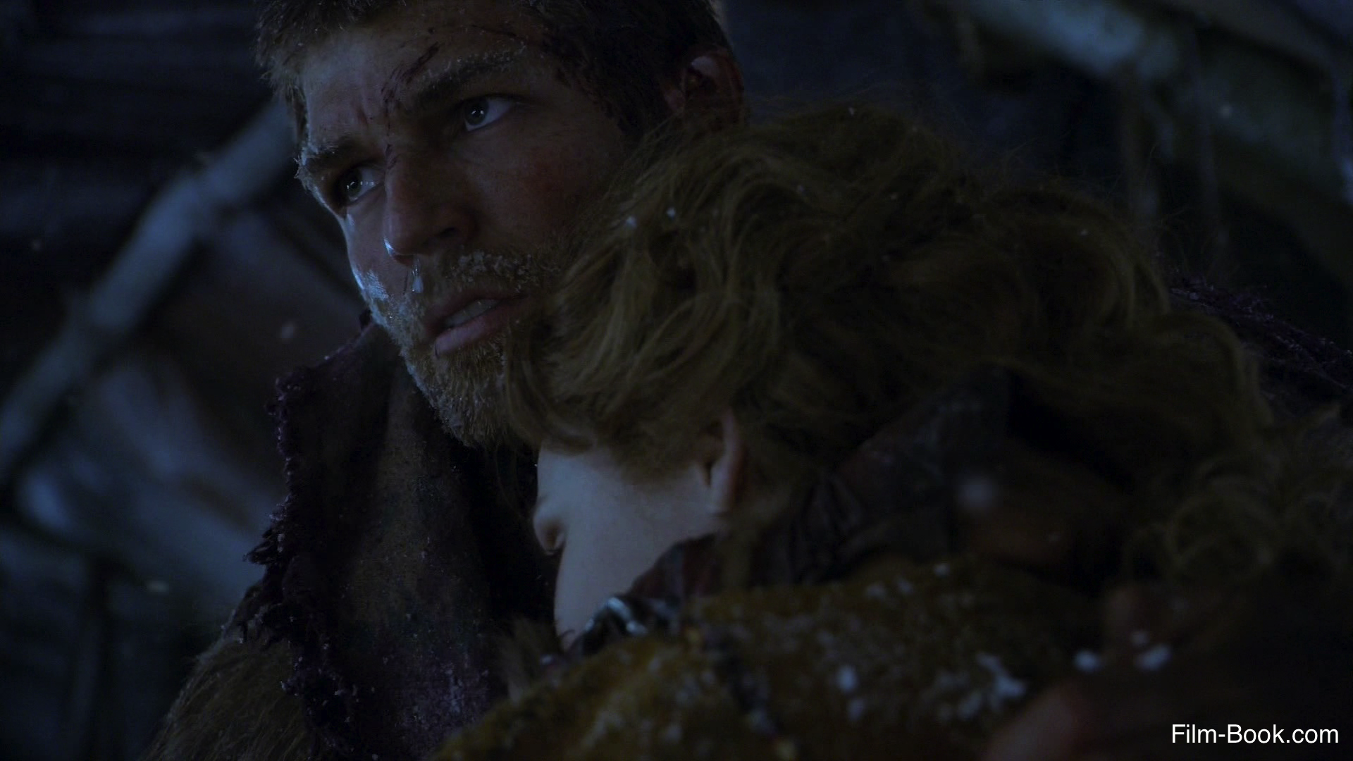 Liam McIntyre Anna Hutchison Spartacus War of the Damned Mors Indecepta