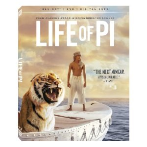 Life of Pi Bluray