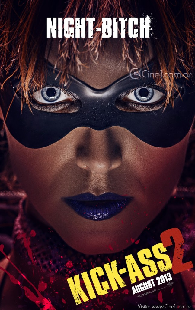 Lindy Booth Night Bitch Kick-Ass 2 movie poster