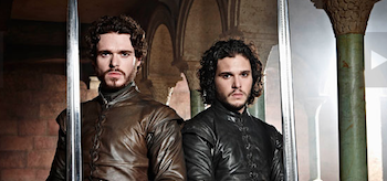 Richard Madden Kit Harington Game of Thrones Season 3 Entertainment Weekly