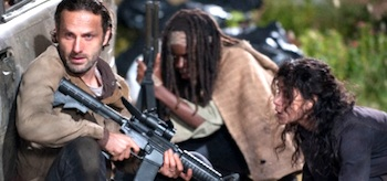 Andrew Lincoln Danai Gurira The Walking Dead Welcome to the Tombs