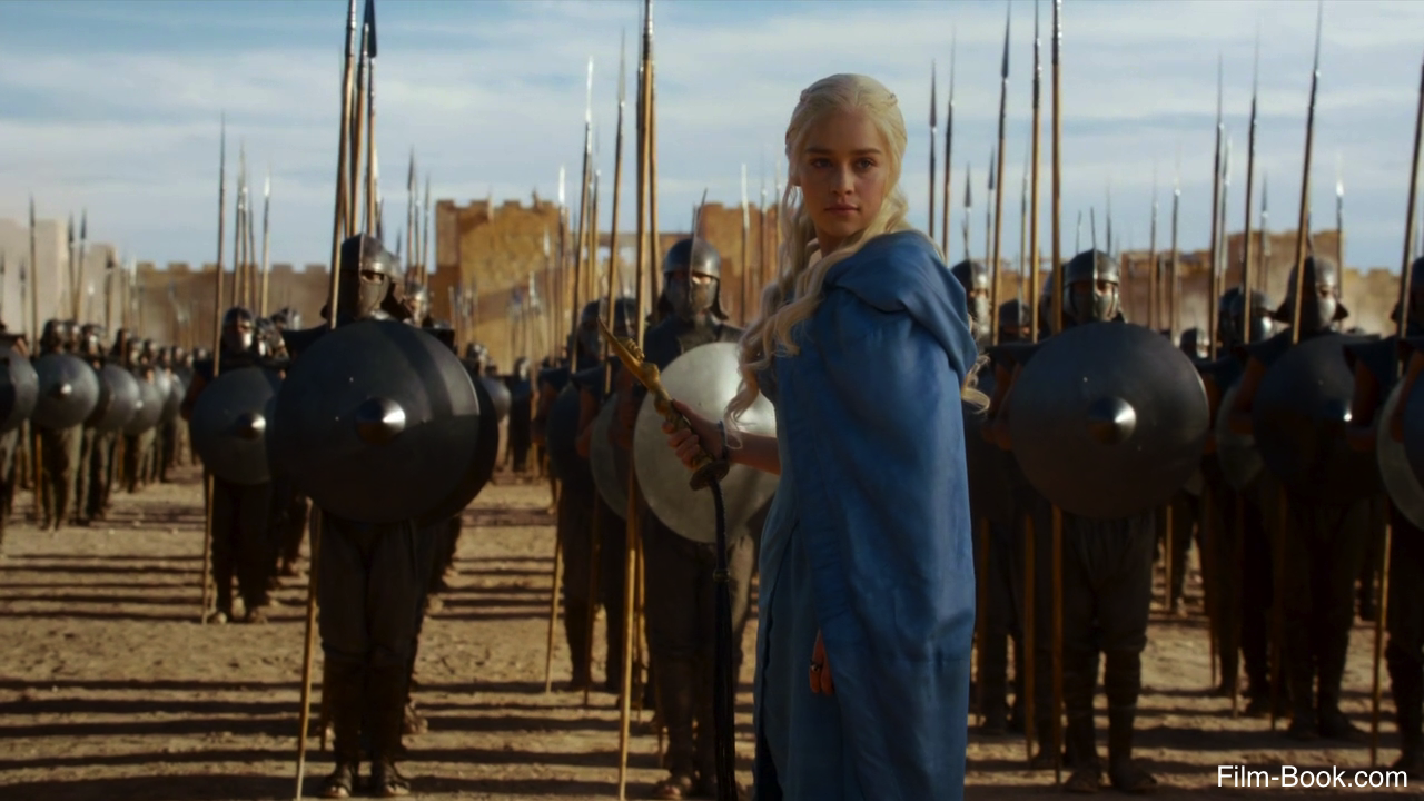 Emilia Clarke Unsullied Game of Thrones And Now His Watch Is Ended