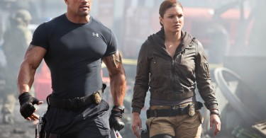 Dwayne Johnson Gina Carano Fast and Furious 6