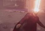 Henry Cavill Eye Lasers Man of Steel
