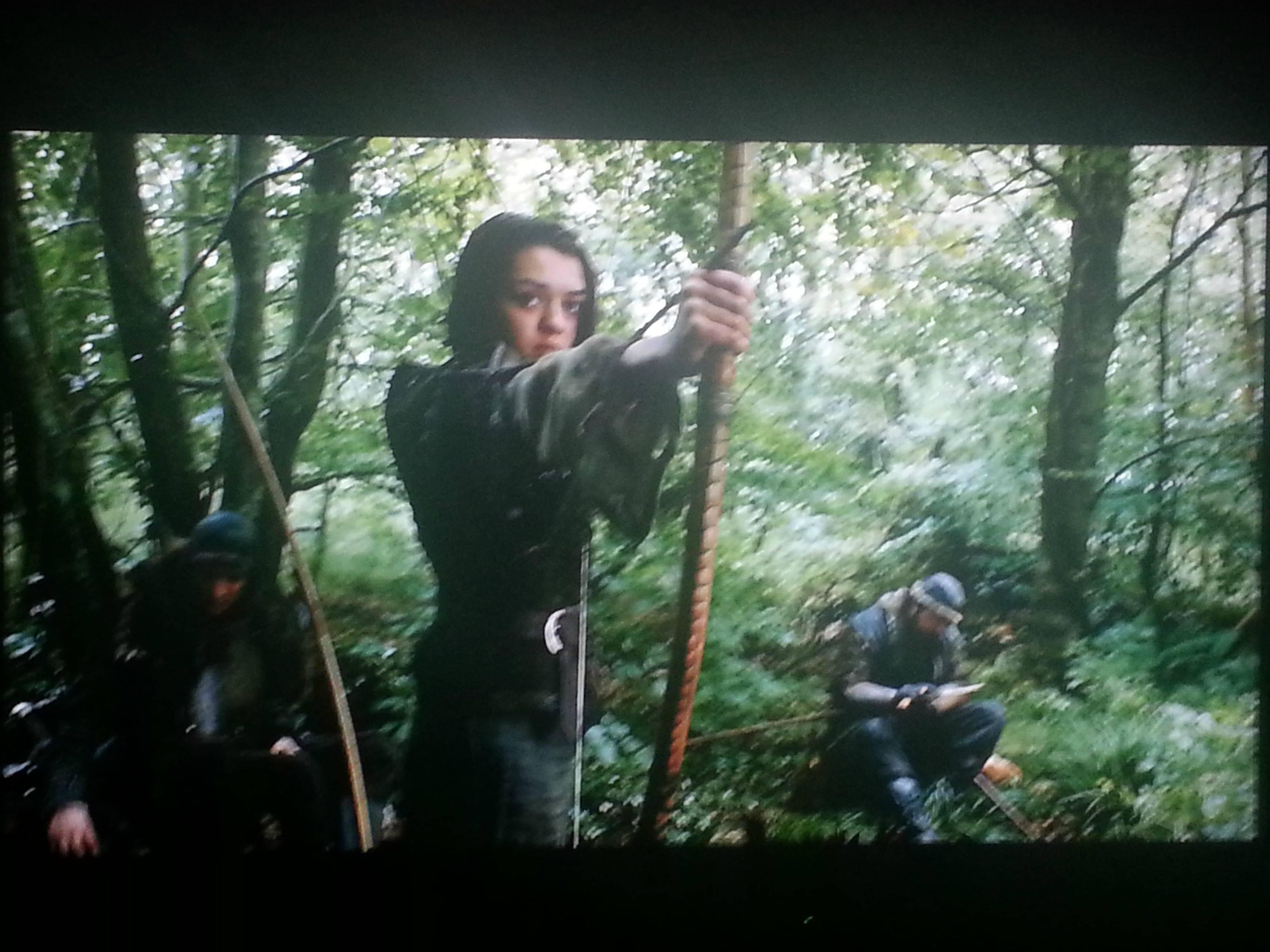 Maisie Williams Game of Thrones The Climb