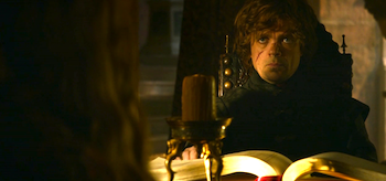 Peter Dinklage Game of Thrones Kissed by Fire