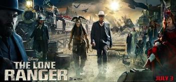 The Lone Ranger Movie Banner