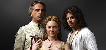 Holliday Grainger Francois Arnaud Jeremy Irons The Borgias