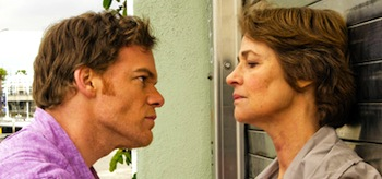 Michael C Hall Charlotte Rampling Charlotte Rampling Dexter A Beautiful Day