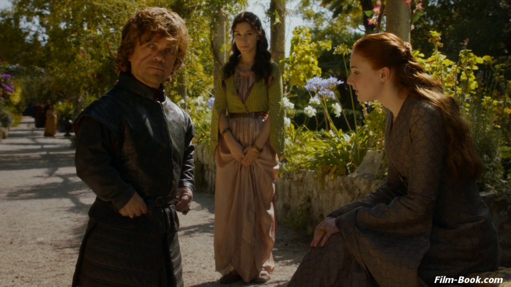 Sibel Kekilli Peter Dinklage Sophie Turner Game of Thrones Mhysa