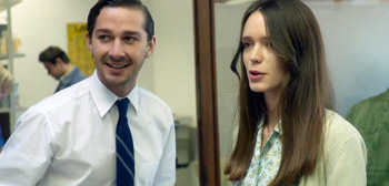Shia LaBeouf Stacy Martin Nymphomaniac
