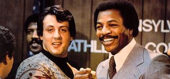 Sylvester Stallone Carl Weathers Rocky