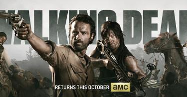 The Walking Dead Season 4 TV show banner