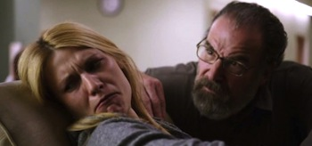 Claire Danes Mandy Patinkin Homeland Season 3