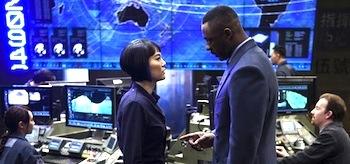 Idris Elba Rinko Kikuchi Pacific Rim
