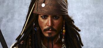 Johnny Depp Capatain Jack Sparrow
