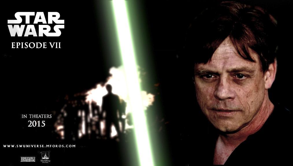 Mark Hamill Star Wars Episode 7 Movie Banner