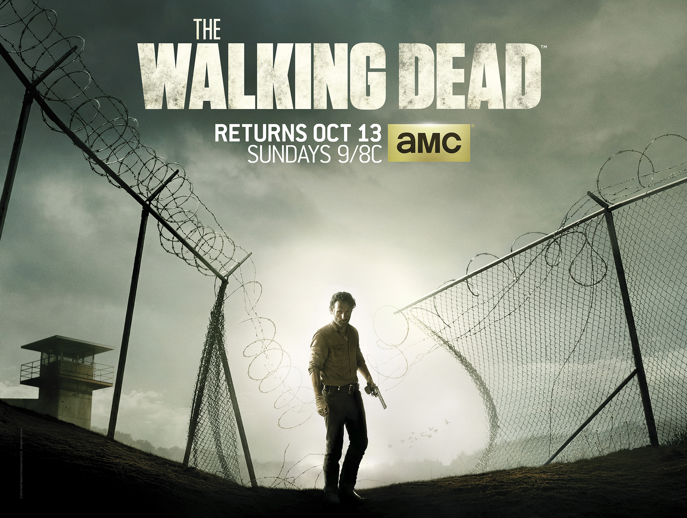 the walking dead season 4 tv spots poster the prison is. Black Bedroom Furniture Sets. Home Design Ideas