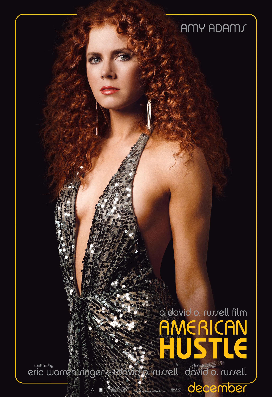 Amy Adams American Hustle movie poster