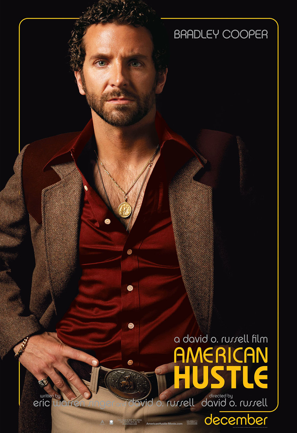 Bradley Cooper American Hustle movie poster