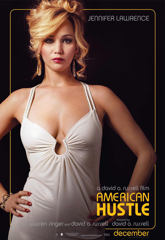 Jennifer Lawrence American Hustle movie poster