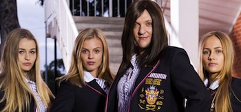 Chris Lilley Jamie Private School Girl