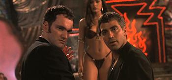 Quentin Tarantino George Clooney From Dusk Till Dawn