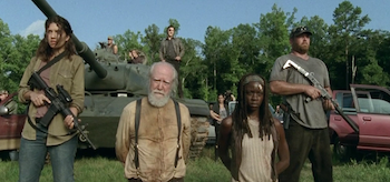 Scott Wilson Danai Gurira The Walking Dead Too Far Gone