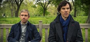 Benedict Cumberbatch Martin Freeman Sherlock