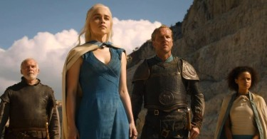 Emilia Clarke Iain Glen Nathalie Emannuel Game of Thrones