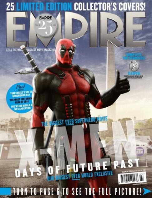 X-Men: Days of Future Past Empire cover 05 Bolivar Tra - (slash, stab, drag) Deadpool