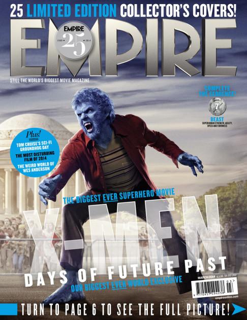 X-Men: Days of Future Past Empire cover 07 Beast