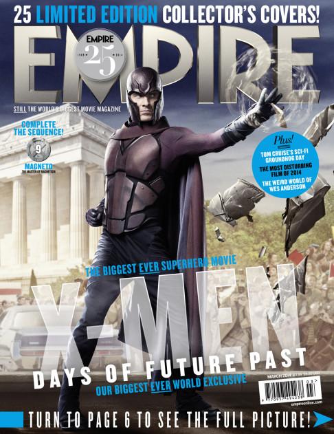 X-Men: Days of Future Past Empire cover 09 Magneto