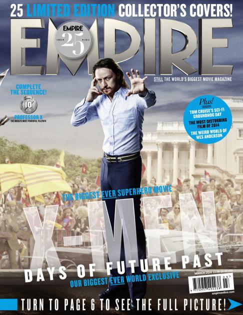 X-Men: Days of Future Past Empire cover 10 Professor X