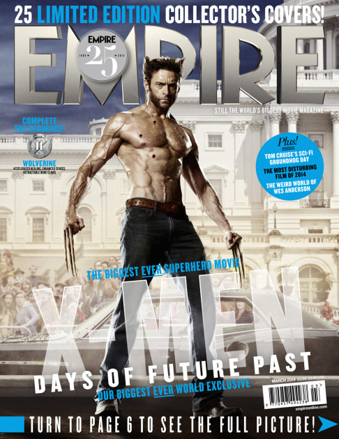 X-Men: Days of Future Past Empire cover 11 Wolverine