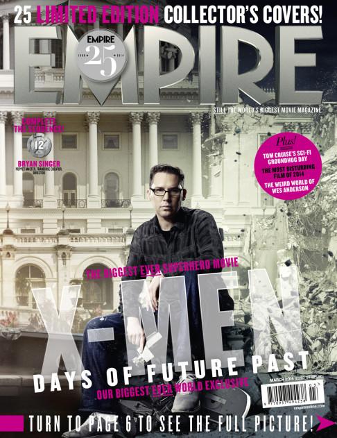 X-Men: Days of Future Past Empire cover 12 Bryan Singer