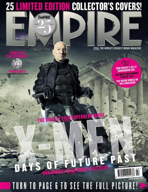 X-Men: Days of Future Past Empire cover 14 Professor X