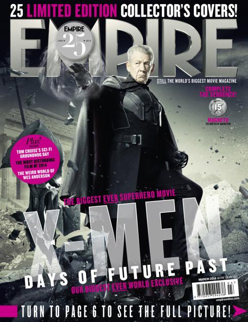 X-Men: Days of Future Past Empire cover 15 Magneto
