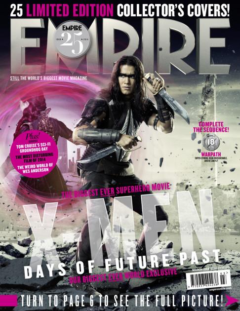 X-Men: Days of Future Past Empire cover 18 Warpath
