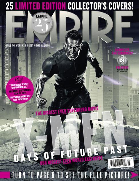 X-Men: Days of Future Past Empire cover 24 Colossus