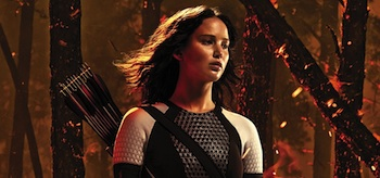 Jennifer Lawrence The Hunger Games Catching Fire IMAX Movie Poster