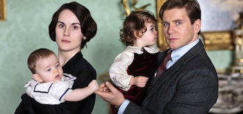 Michelle Dockery Allen Leech Downton Abbey Season 4