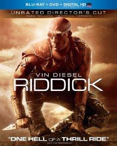Riddick Bluray