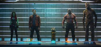 Zoe Saldana Chris Pratt Dave Bautista Guardians of the Galaxy
