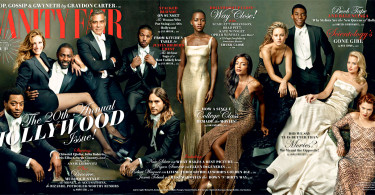 Vanity Fair Magazine 2014 Hollywood Cover
