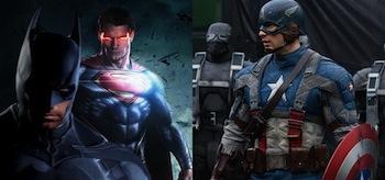 Batman Superman Captain America
