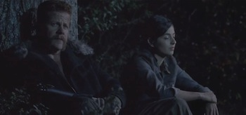 Michael Cudlitz Alanna Masterson The Walking Dead Us