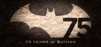 Batman 75th Anniversary logo